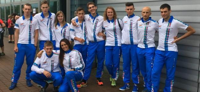 Un grande Dallavalle Luca ai Mondiali MTBO in Repubblica Ceca