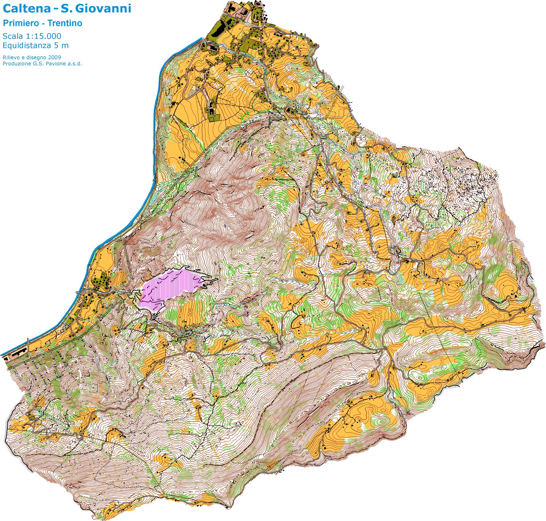 Mappa di riserva Middle