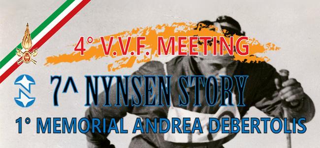 1° Memorial Andrea Debertolis - 7^ Nynsen Story e 4° VVF Meeting