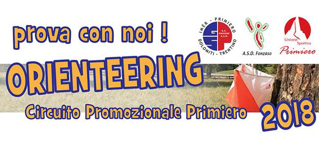 Circuito promozionale orienteering 2018