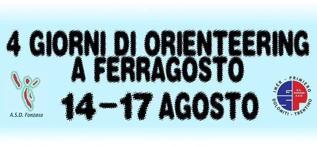 4 giorni Orienteering a Ferragosto