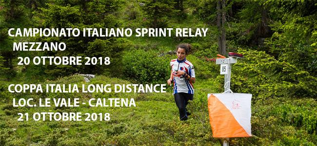 Campionati Italiani Sprint Relay e Coppa Italia Long