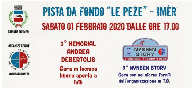 3° Memorial Andrea Debertolis - 9^ Nynsen Story